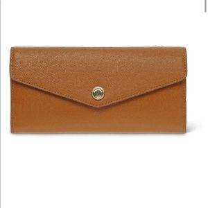 Michael Kors Leather Saffiano Color Block Wallet